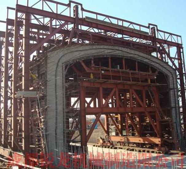 高速铁路框架明洞内外模台车