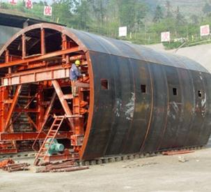 高速公路隧道衬砌台车