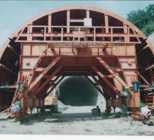 三线公路隧道衬砌台车